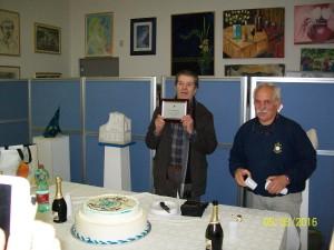 Premiazione Ettore Vodopia