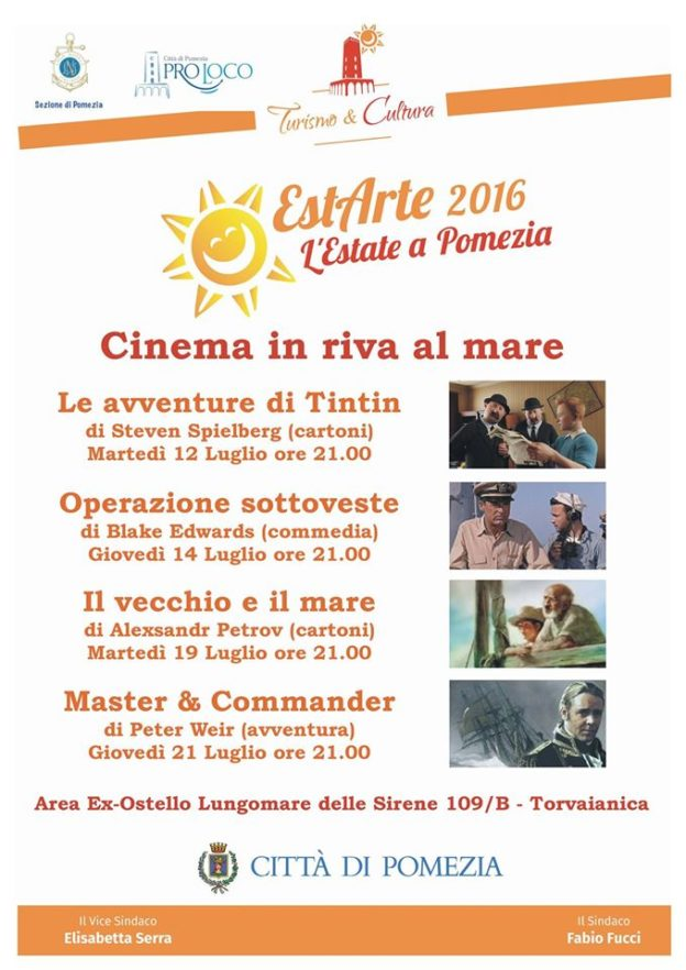 cinema in riva al mare 2016
